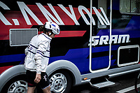 Omer Shapira (ISR/Canyon Sram Racing) post race<br /> <br /> <br /> 3th Liège-Bastogne-Liège-Femmes 2019 (1.WWT)<br /> 1 Day Race: Bastogne – Liège 138,5km<br /> <br /> ©kramon