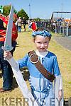 Enjoying the Ardfert Medieval Festival celebrating the feast of St Brendan on Sunday was Ella Fortune