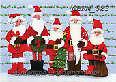 Kate, CHRISTMAS SANTA, SNOWMAN, WEIHNACHTSMÄNNER, SCHNEEMÄNNER, PAPÁ NOEL, MUÑECOS DE NIEVE, paintings+++++Christmas page 9 2,GBKM523,#x#