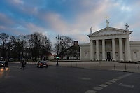 Vilnius Cathedral Square, Vilnius, Lithuania