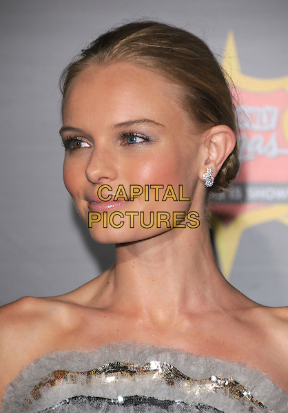 """KATE BOSWORTH, wearing Chanel Couture.The Colmbia Pictures' World Premiere of """"21"""" held at Planet Hollywood Hotel & Casino in Las Vegas, California on .March 12th, 2008.headshot portrait silver grey gray strapless .CAP/DVS.©Debbie VanStory/Capital Pictures"""