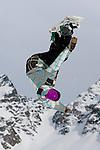 Verbier, Switzerland. March 18th 2010..Verbier Swatch Snowpark - La Chaux..