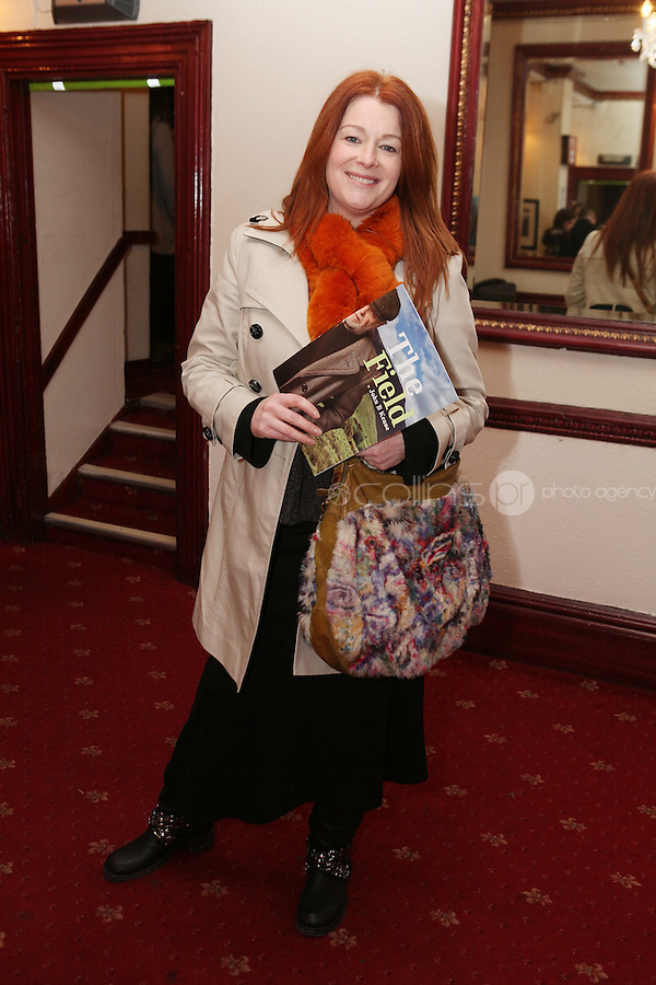 """NO REPRO FEE. 17/1/2010. The Field opening night. Blathnaid Ni Chofaigh is pictured at the Olympia Theatre for the opening night of John B Keanes 'The Field"""" Picture James Horan/Collins"""