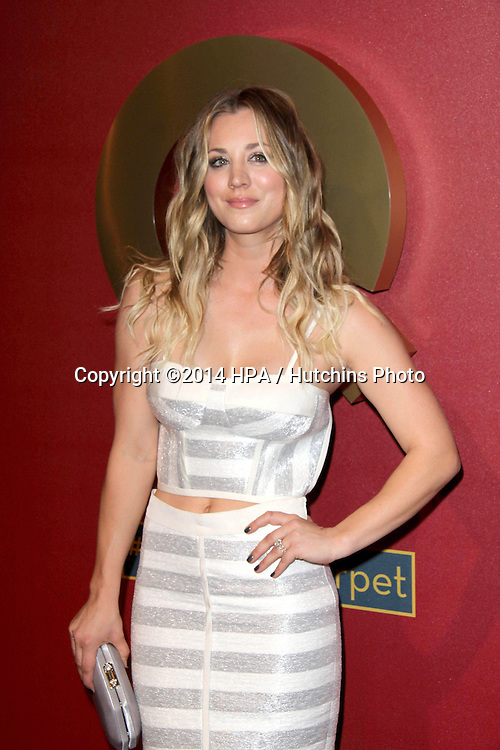 LOS ANGELES - MAR 1:  Kaley Cuoco at the QVC 5th Annual Red Carpet Style Event at the Four Seasons Hotel on March 1, 2014 in Beverly Hills, CA