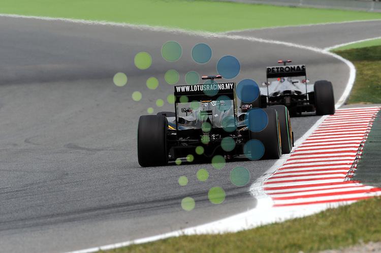F1 GP of Spain, Barcelona 06.-09. May 2010.Jarno Trulli (ITA), Lotus F1 Racing ..Hasan Bratic;Koblenzerstr.3;56412 Nentershausen;Tel.:0172-2733357;.hb-press-agency@t-online.de;http://www.uptodate-bildagentur.de;.Veroeffentlichung gem. AGB - Stand 09.2006; Foto ist Honorarpflichtig zzgl. 7% Ust.;Hasan Bratic,Koblenzerstr.3,Postfach 1117,56412 Nentershausen; Steuer-Nr.: 30 807 6032 6;Finanzamt Montabaur;  Nassauische Sparkasse Nentershausen; Konto 828017896, BLZ 510 500 15;SWIFT-BIC: NASS DE 55;IBAN: DE69 5105 0015 0828 0178 96; Belegexemplar erforderlich!..
