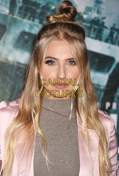 HOLLYWOOD, CA - JANUARY 25: Actress Veronica Dunne arrives at the Premiere Of Disney's 'The Finest Hours' at TCL Chinese Theatre on January 25, 2016 in Hollywood, California.