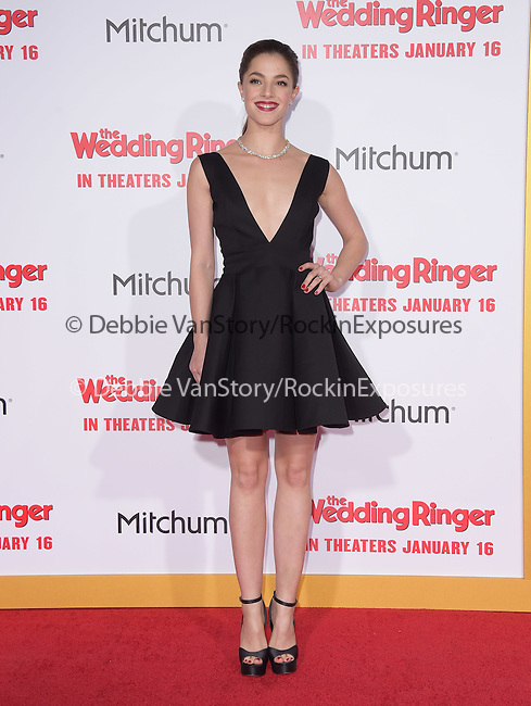 Olivia Thirlby attends The Screen Gems' World Premiere of The Wedding Ringer held at The TCL Chinese Theater  in Hollywood, California on January 06,2015                                                                               © 2015 Hollywood Press Agency
