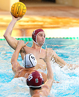 STANFORD, CA - November 26, 2010: Alex Pulido in Men's  water polo game, Stanford against UC-Irvine (MPSF Tournament). Stanford won 8-7.