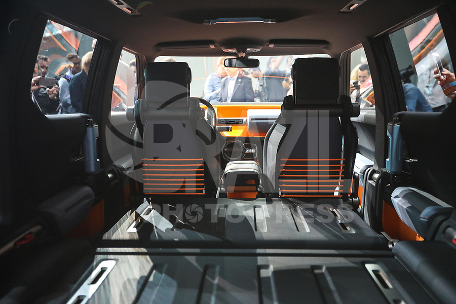 NEW YORK, EUA, 12.04.2017 - AUTOMÓVEL-NEW YORK - Toyota FT-DX Concept  é visto durante o New York Internacional Auto Show no Javits Center na cidade de New York nesta quarta-feira, 12. O evento é aberto ao público do dia 14 à 23 de abril de 2017  .(Foto: Vanessa Carvalho/Brazil Photo Press)