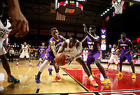 NJ Public Finals, Group 2 State Championship:  Newark Tech Terriers vs Camden Panthers boys basketball at the Rutgers Athletic Center, Piscataway, NJ, Sunday, March 15, 2015.  Newark Tech defeated Camden by the score of 57 - 51.