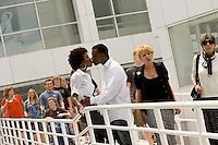 Engagement photos of von Nkosi and Dee Dee Jones in Atlanta, GA