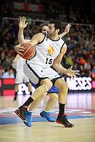 Alex Mumbru. FC Barcelona Regal vs Uxue Bilbao Basket