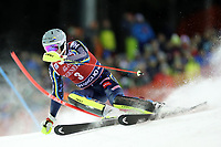 January 8th 2020, Madonna di Campiglio, Italy;  FIS Alpine Ski World Cup Men's Night Slalom in Madonna di Campiglio, Italy on January 8, 2020, Andre Myhrer (SWE)- Editorial Use