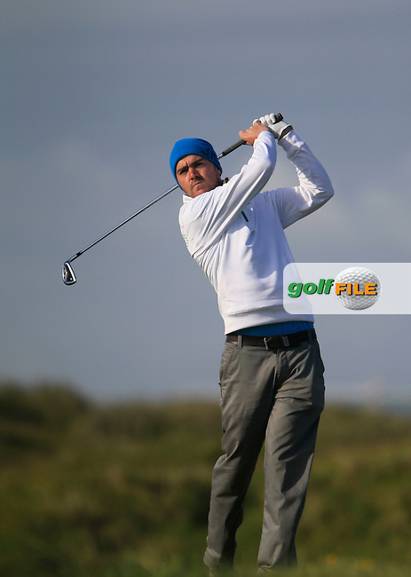 M Wylie (Quinta da ria Portugal)<br /> during R1 of the East of Ireland Amateur Open championship 2013 at Co Louth Golf club, 1/6/13<br /> Picture:  Thos Caffrey / www.golffile.ie