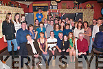 KEY OF THE DOOR: Joseph O'Sullivan, Kilmoyley (seated third from left), celebrated his 21st birthday in An Tochar Bar, Kilmoyley, on Saturday night with family and friends.   Copyright Kerry's Eye 2008