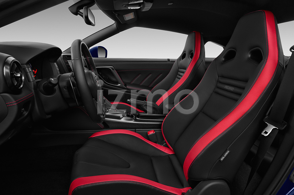 Front seat view of 2017 Nissan GT-R Black-Edition 2 Door Coupe Front Seat  car photos