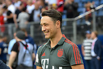 15.08.2018,  GER; FBL, Testspiel, Hamburger SV vs FC Bayern Muenchen ,DFL REGULATIONS PROHIBIT ANY USE OF PHOTOGRAPHS AS IMAGE SEQUENCES AND/OR QUASI-VIDEO, im Bild Trainer Nico Kovac (Bayern) gut gelaunt  Foto © nordphoto / Witke *** Local Caption ***