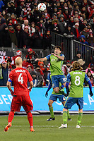 Toronto, ON, Canada - Saturday Dec. 10, 2016: Nicolas Lodeiro during the MLS Cup finals at BMO Field. The Seattle Sounders FC defeated Toronto FC on penalty kicks after playing a scoreless game.