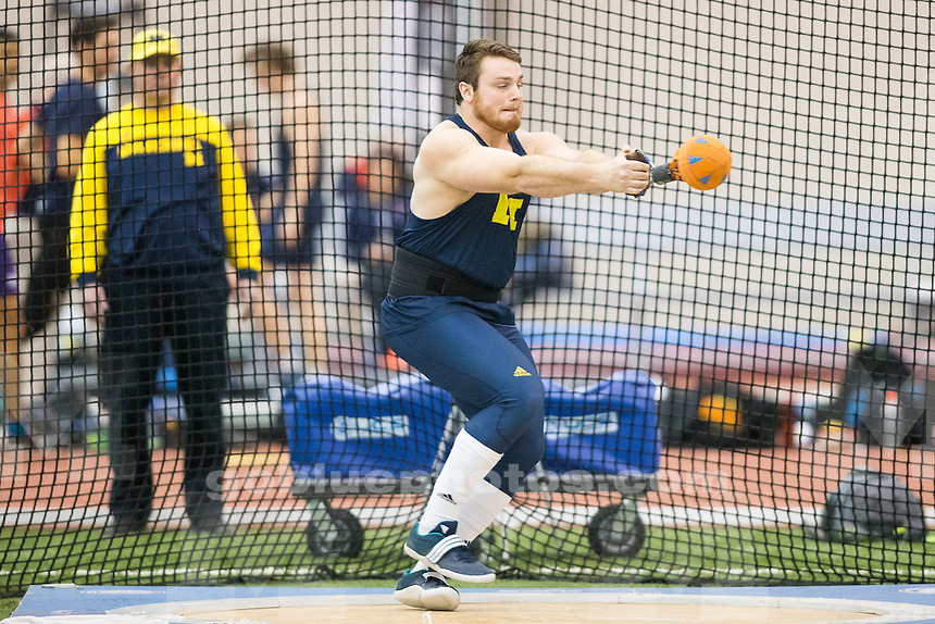 2/12/2016 Michigan men's track and field at Spire Institute D1 Invitational.