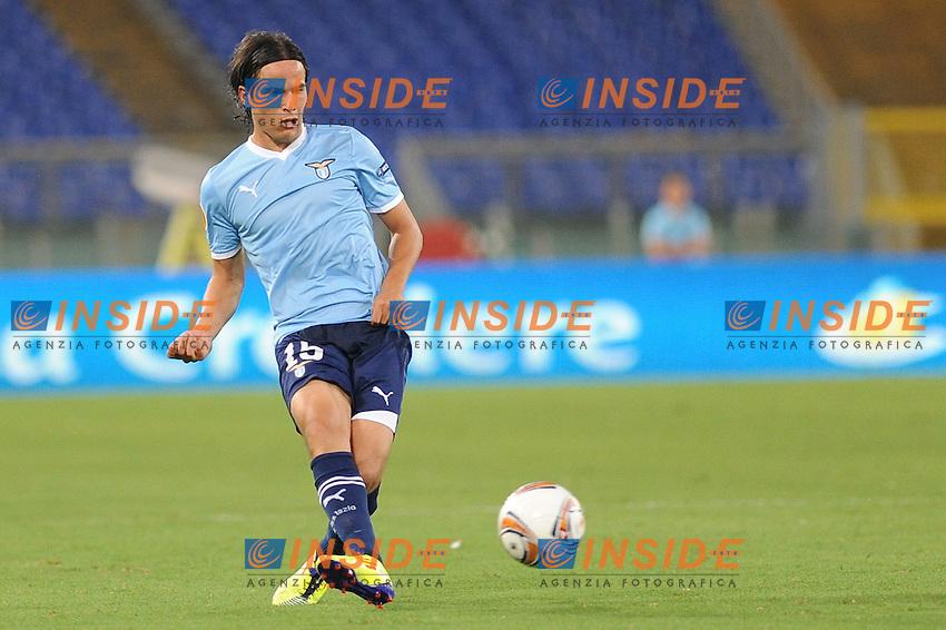 "alvaro gonzales (lazio)..roma 15-09-2011 ""stadio olimpico""..calcio football europa league..lazio vaslui..foto insidefoto massimo oliva"