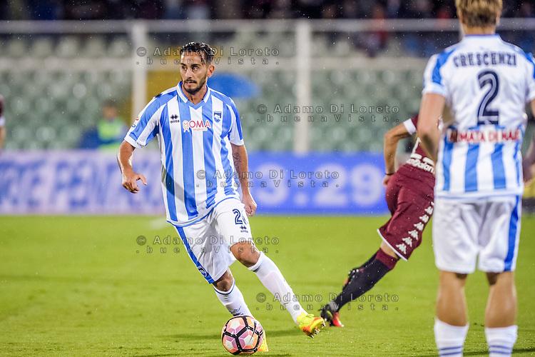 Alberto Aquilani (Pescara) during the Italian Serie A football match Pescara vs Torino on September 21, 2016, in Pescara, Italy. Photo di Adamo Di Loreto/BuenaVista*photo