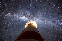 Sometimes in life you just need to stop and look up...looking up at the Cape Palliser Lighthouse on the North Island of New Zealand as The Milky Way hangs high overhead.