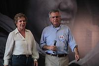 SÃO PAULO,SP,30.07.2016 - ELEIÇÕES-SP - Marta Suplicy e Andrea Matarazzo durante convenção municipal do PMDB 2016 na região norte de São Paulo,neste sábado (30). ( Foto : Marcio Ribeiro / Brazil Photo Press)