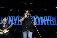 Guitar player Rickey Medlocke and singer Johnny van Zant of Lynyrd Skynyrd during a concert at Citadel Music Festival held at Citadel Spandau in Berlin, Germany, 07.06.2012...Credit: Cliff/face to face /MediaPunch Inc. ***FOR USA ONLY*** /NORTEPHOTO.COM