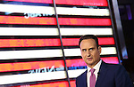Jose Diaz-Balart telecasts live in Times Square