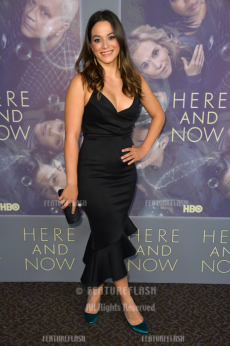 Stephanie Arcila at the premiere for HBO's &quot;Here and Now&quot; at The Directors Guild of America, Los Angeles, USA 05 Feb. 2018<br /> Picture: Paul Smith/Featureflash/SilverHub 0208 004 5359 sales@silverhubmedia.com