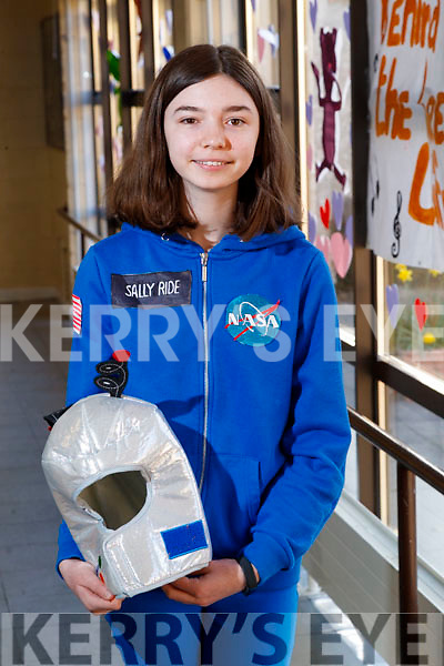 Rosie Kennelly pictured at Love Literature week at Presentation Secondary School, Tralee, on Wednesday morning last.