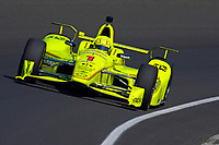 Verizon IndyCar Series<br /> Indianapolis 500 Practice<br /> Indianapolis Motor Speedway, Indianapolis, IN USA<br /> Tuesday 16 May 2017<br /> Simon Pagenaud, Team Penske Chevrolet<br /> World Copyright: F. Peirce Williams