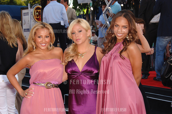 "The CHEETAH GIRLS at the world premiere, in Los Angeles, of ""Miami Vice."".July 20, 2006  Los Angeles, CA.© 2006 Paul Smith / Featureflash"