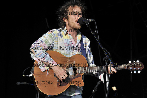 DAMIEN RICE performing live on Day 2 on the Main Stage at the Hop Farm Music Festival in Paddock Wood Kent UK - 30 Jun 2012.  Photo credit: George  Chin/IconicPix