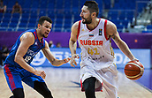 7th September 2017, Fenerbahce Arena, Istanbul, Turkey; FIBA Eurobasket Group D; Russia versus Great Britain; Small Forward Nikita Kurbanov #41 of Russia in action during the match