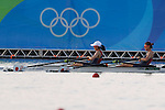 Hiroshi Nakano &amp; Hideki Omoto (JPN), <br /> AUGUST 11, 2016 - Rowing : <br /> Women's Lightweight Double Sculls Semi-fainal <br /> at Lagoa Stadium <br /> during the Rio 2016 Olympic Games in Rio de Janeiro, Brazil. <br /> (Photo by Sho Tamura/AFLO SPORT)