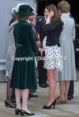 "CATHERINE, DUCHESS OF CAMBRIDGE TOGETHER WITH PRINCES WILIAM AND HARRY.visited the Warner Bros Studios, where the ""Harry Potter"" film was shot in Leavesden, Hertfordshire_26/04/2013.The Duchess is 7 months into her pregnancy..Mandatory credit photo:©DiasImages/NEWSPIX INTERNATIONAL..**ALL FEES PAYABLE TO: ""NEWSPIX INTERNATIONAL""**..PHOTO CREDIT MANDATORY!!: NEWSPIX INTERNATIONAL(Failure to credit will incur a surcharge of 100% of reproduction fees)..IMMEDIATE CONFIRMATION OF USAGE REQUIRED:.Newspix International, 31 Chinnery Hill, Bishop's Stortford, ENGLAND CM23 3PS.Tel:+441279 324672  ; Fax: +441279656877.Mobile:  0777568 1153.e-mail: info@newspixinternational.co.uk"