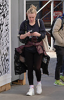 www.acepixs.com<br /> <br /> February 6 2017, New York City<br /> <br /> Actress Dakota Fanning enjoys some warmer weather in Soho on February 6 2017 in New York City<br /> <br /> By Line: Curtis Means/ACE Pictures<br /> <br /> <br /> ACE Pictures Inc<br /> Tel: 6467670430<br /> Email: info@acepixs.com<br /> www.acepixs.com