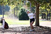 CHAPEL HILL, NC - OCTOBER 11: Mathilde Claisse of the University of South Carolina at UNC Finley Golf Course on October 11, 2019 in Chapel Hill, North Carolina.