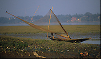 Boat by Bandel Church on Ganga