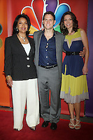 Phylicia Rashad, Steven Pasquale, and Alana de la Garza at NBC's Upfront Presentation at Radio City Music Hall on May 14, 2012 in New York City. © RW/MediaPunch Inc.