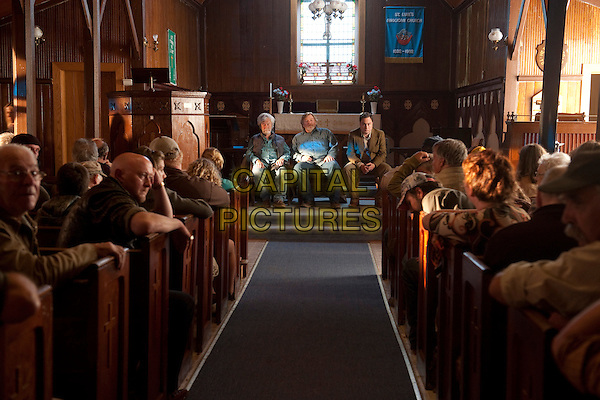 Gordon Pinsent, Brendan Gleeson, Mark Critch<br /> in The Grand Seduction (2013) <br /> *Filmstill - Editorial Use Only*<br /> CAP/FB<br /> Image supplied by Capital Pictures