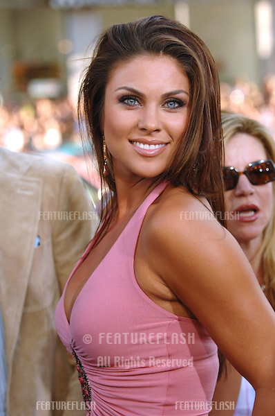 Actress NADIA BJORLIN at the Los Angeles premiere of The Dukes of Hazzard..July 28, 2005 Los Angeles, CA.© 2005 Paul Smith / Featureflash