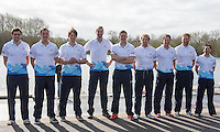 Caversham. Berkshire. UK<br /> GBR M8+. left, Matt GOTREL, Scott DURANT, Tom RANSLEY, Paul BENNETT, Pete REED, Andy TRIGGS HODGE, Matt LANGRIDGE, Will SATCH and Phelan HILL.<br /> 2016 GBRowing European Team Announcement,  <br /> <br /> Wednesday  06/04/2016 <br /> <br /> [Mandatory Credit; Peter SPURRIER/Intersport-images]
