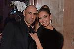 &copy;www.agencepeps.be/ F.Andrieu - France -Paris - 131216 - Soir&eacute;e Remise des prix &quot;The Best&quot; de Massimo Gargia<br /> Pics: Indra et son compagnon