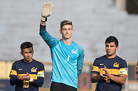 BERKELEY, CA - October 13, 2016: Jonathan Klinsmann (1) waves during introductions. Cal played UCLA at Edwards Stadium.