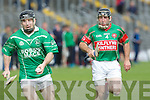 Bobby O'Sullivan (Ballyduff) in action with Tom Cronin (Crotta Capt) in the  Garvey's SuperValu Senior Hurling Championship 2014 Quarter Finals at Austin Stack Park, Tralee on Saturday.
