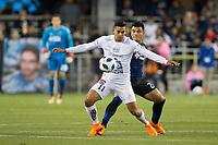 Santa Clara, CA - Saturday, March 24, 2018: San Jose Earthquakes lost a friendly game to Leon 1-0 at the Avaya Stadium in Santa Clara.