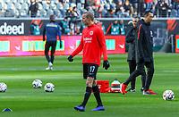 Sebastian Rode (Eintracht Frankfurt) - 19.01.2019: Eintracht Frankfurt vs. SC Freiburg, Commerzbank Arena, 18. Spieltag Bundesliga, DISCLAIMER: DFL regulations prohibit any use of photographs as image sequences and/or quasi-video.