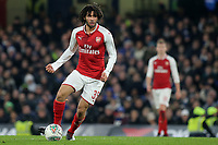 Mohamed Elneny of Arsenal in action during Chelsea vs Arsenal, Caraboa Cup Football at Stamford Bridge on 10th January 2018